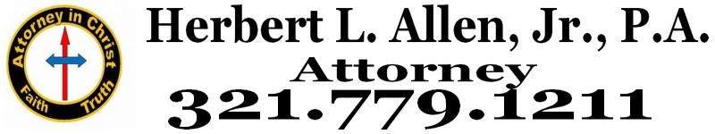 Herbert L. Allen, Jr., P.A., Probate Attorney, offers legal services to help people probate their estates in Florida.